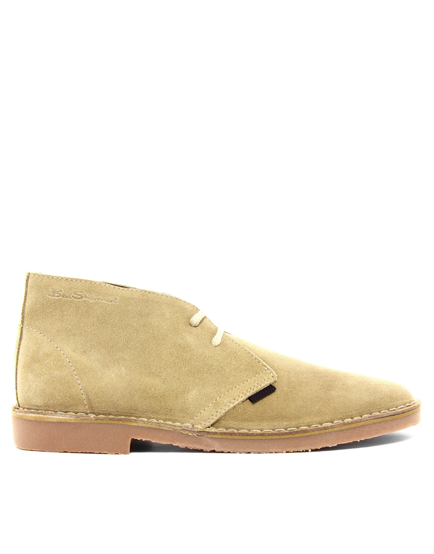 ben sherman clegg suede desert boots in for lyst