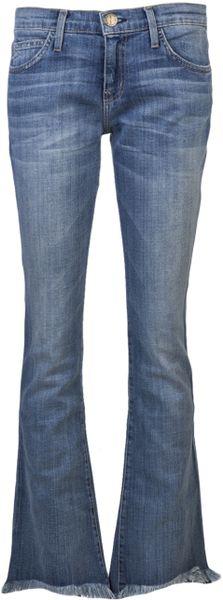 Current/elliott Flip Flop Jean in Blue