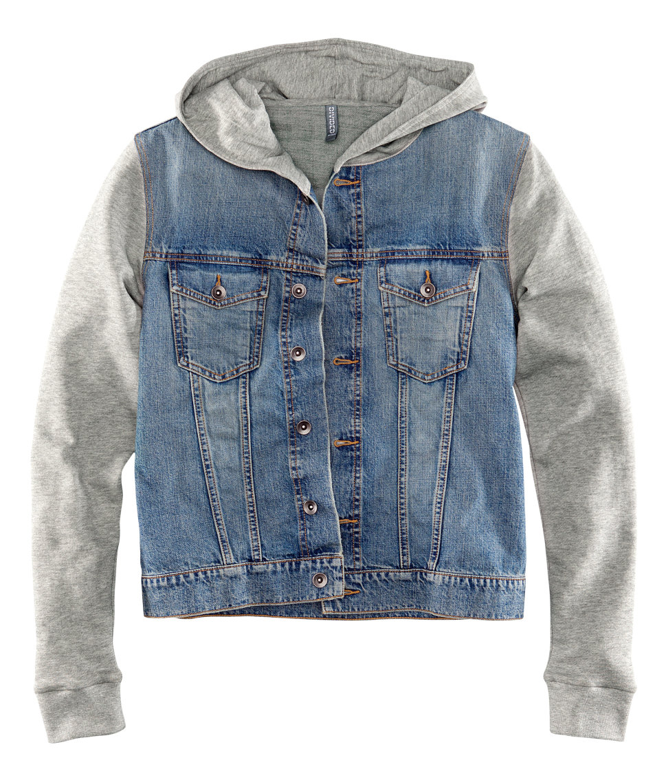 4886b52a1503 H M Denim Jacket in Blue for Men - Lyst