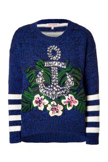 Juicy Couture Regal Bluemulti Nautical Hibiscus Pullover - Lyst
