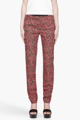 Kenzo Animal Stripe and Polka Dot Trousers - Lyst