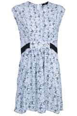 Markus Lupfer Gathered Dress - Lyst