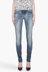 Pierre Balmain Faded Blue Fivepocket Jeans - Lyst
