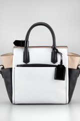 Reed Krakoff Atlantique Mini Tote Bag Whiteblacknu - Lyst