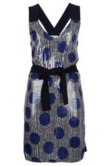 Sonia By Sonia Rykiel Polka Dot Sequin Dress - Lyst