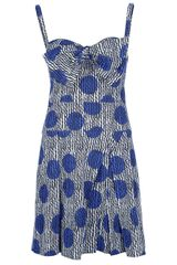Sonia By Sonia Rykiel Polka Dot Dress - Lyst