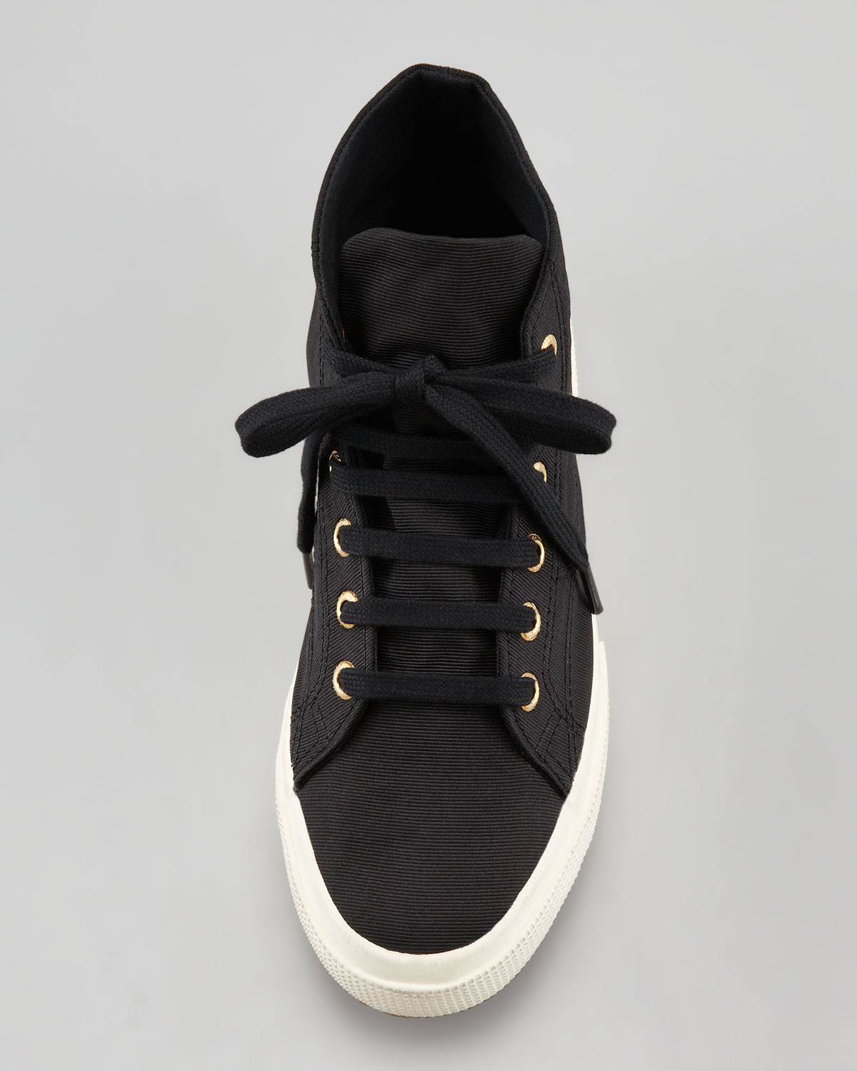 lace-up sneakers - Black Superga igCPYB