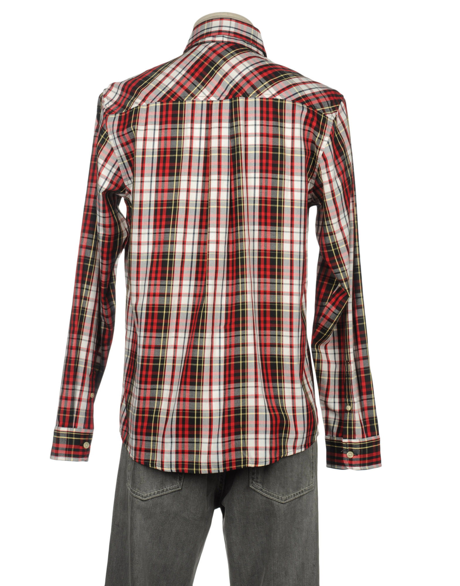 Lyst carhartt long sleeve shirt in red for men for Long sleeve carhartt shirt