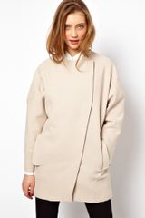 ASOS Collection Asos Multistitch Ovoid Coat - Lyst