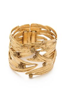 Aurelie Bidermann Surfing Mimosa Articulated Cuff - Lyst