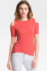 Bailey 44 Toledo Cutout Shoulder Top - Lyst