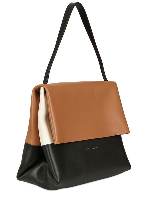 974ce6ab7e Lyst - Céline All Soft Mellow Leather Shoulder Bag in Brown