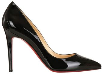 Christian Louboutin 100mm Pigalle Patent Pumps - Lyst