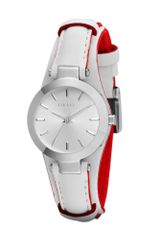 DKNY Essentials White Leather Ladies Watch - Lyst