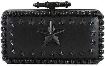 Givenchy Star Embroidered Minaudiere - Lyst