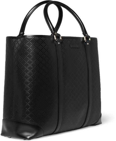18b5bd933581cc Gucci Men's Leather Tote Bags | Stanford Center for Opportunity ...