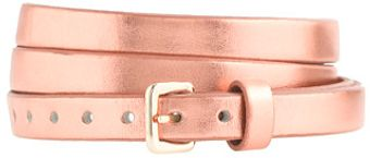J.Crew Skinny Leather Belt - Lyst