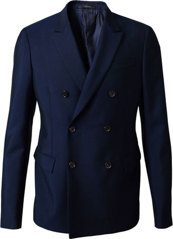 Jil Sander Woolmohair Tailored Jacket - Lyst