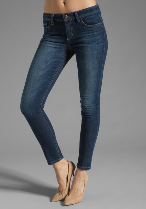 Images of Skinny Ankle Jeans - Reikian