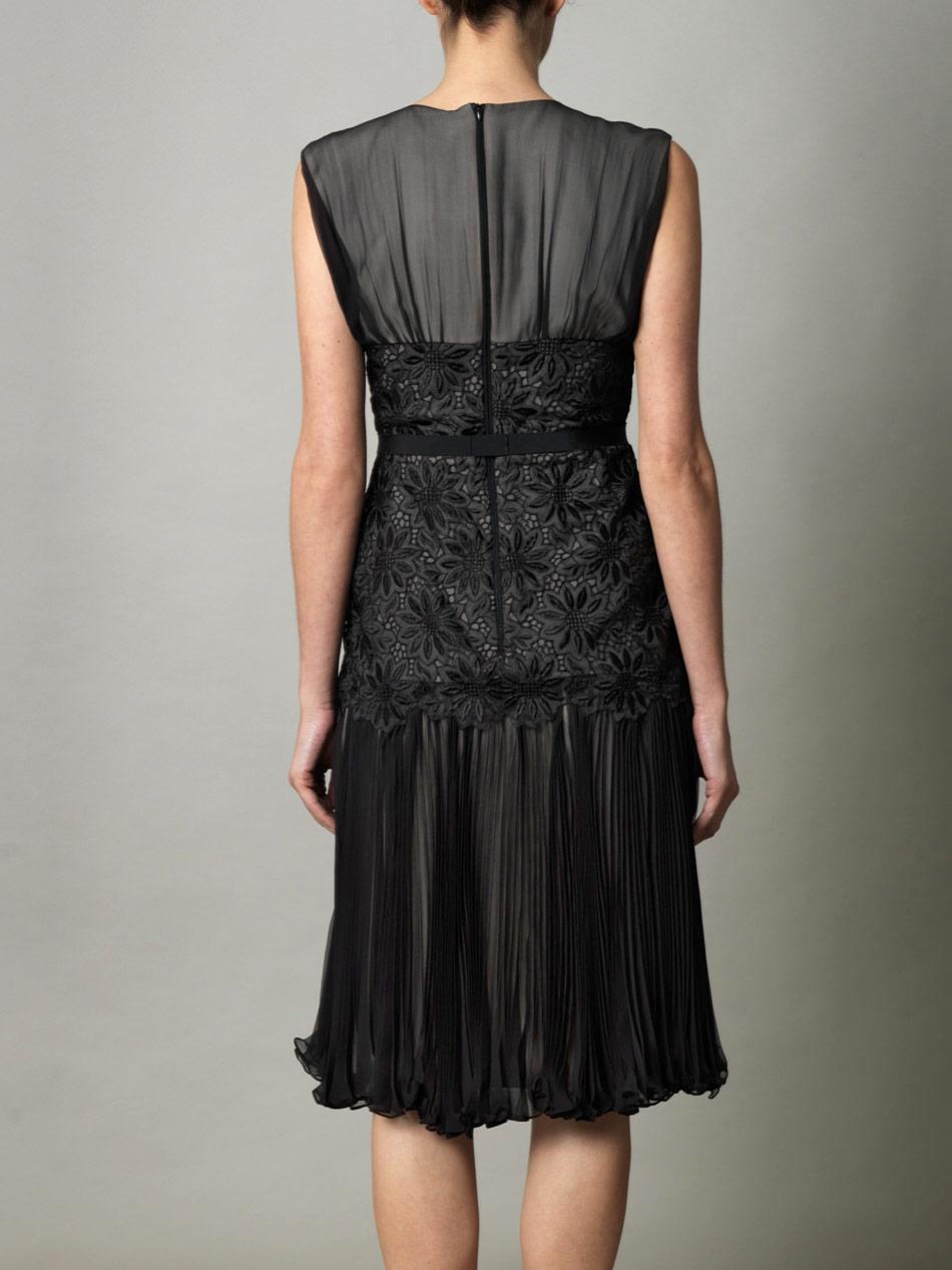 Black dress max mara