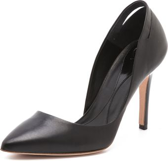 McQ by Alexander McQueen Slash Point Pumps - Lyst