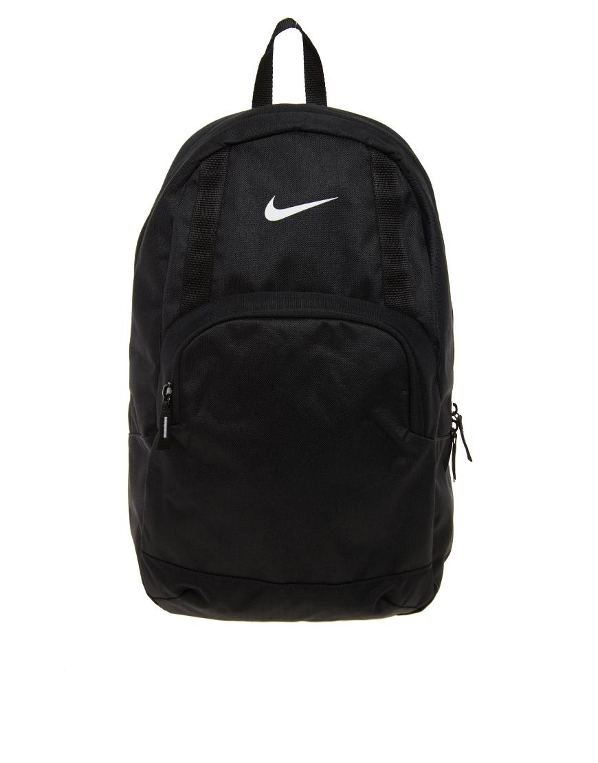 Lyst - Nike Classic Sand Backpack in Black 558f3b14f293c