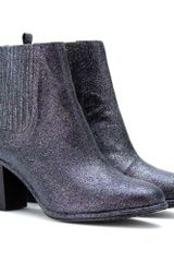 Opening Ceremony Brenda Glitter Covered Ankle Boots