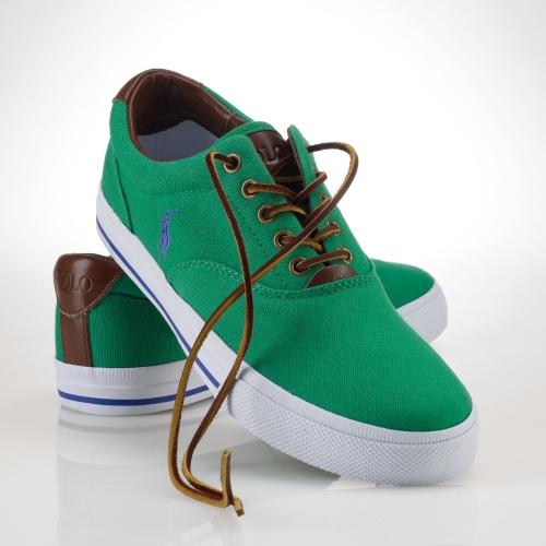 polo ralph lauren shoes green