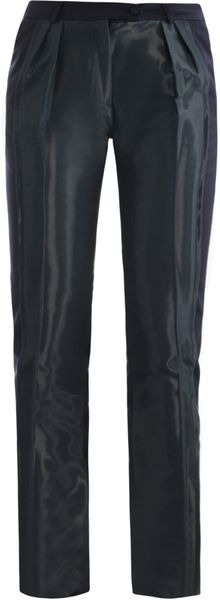 Preen Fold Coated Panel Trousers - Lyst
