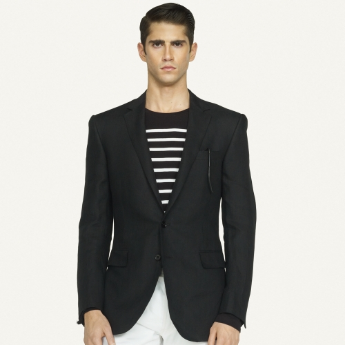 Ralph lauren black label Anthony Linen Sport Coat in Black for Men ...