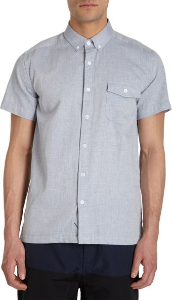 Saturdays Surf Nyc Chambray Shirt - Lyst