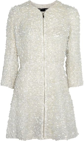 Theyskens' Theory Manie Sequined Organza Coat Dress - Lyst