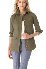 Veronica Beard The Army Jacket - Lyst
