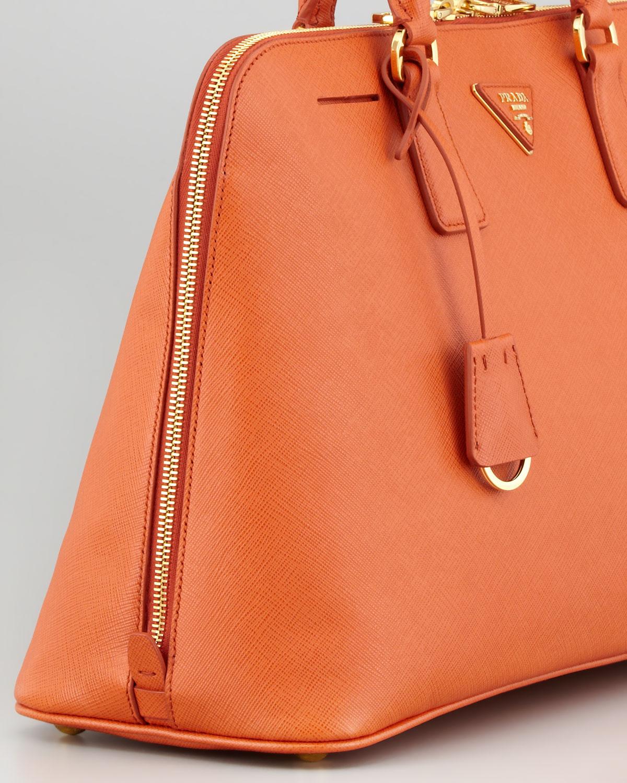 38566e97427b closeout lyst prada daino small shoulder bag in orange 18f1f 0df23  ebay lyst  prada large saffiano lux bugatti tote bag in orange 64870 e0b02
