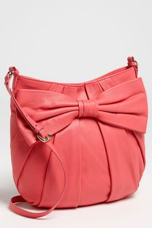 RED Valentino Bow Large Leather Crossbody Bag - Lyst