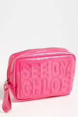 See By Chloé Zip File Zip Around Pouch - Lyst