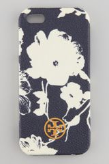Tory Burch Robinson Floral Hard Shell Iphone 5 Case - Lyst