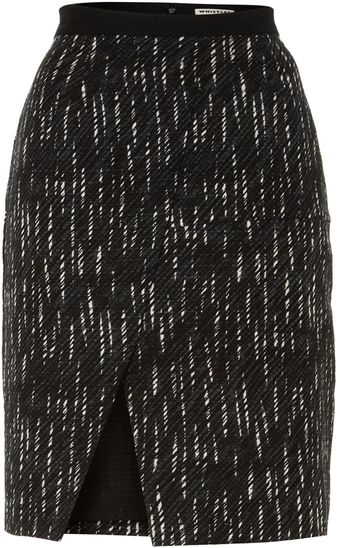 Whistles Summer Shower Wrap Skirt - Lyst