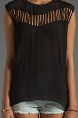 Blessed Are The Meek Lost Ark Top in Black - Lyst