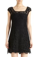 Dolce & Gabbana Sleeveless Lace Dress - Lyst