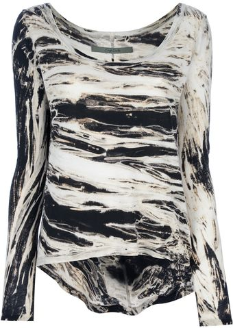 Enza Costa Printed Top - Lyst