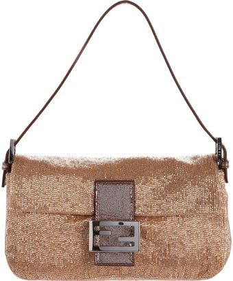 Fendi Beaded Baguette Bag - Lyst