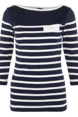Henri Lloyd Fabiola Three Quarter Sleeve Top - Lyst