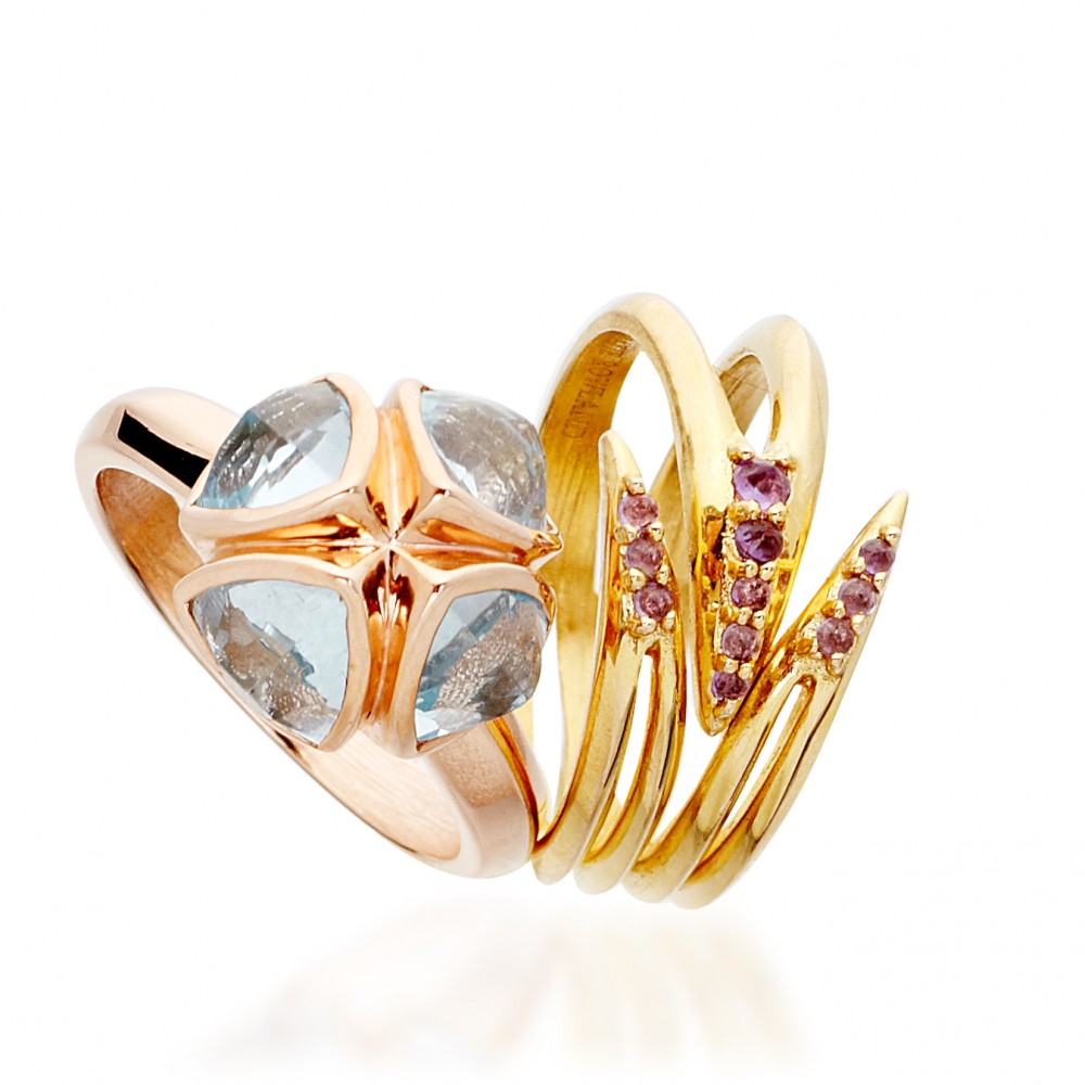 Goddess Of Fertility And Love Rings