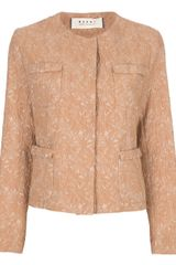 Marni Textured Jacket - Lyst