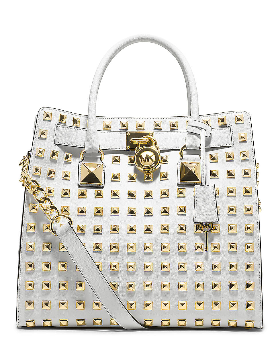 Free shipping BOTH ways on michael kors studded hamilton handbag, from our vast selection of styles. Fast delivery, and 24/7/ real-person service with a smile. Click or call