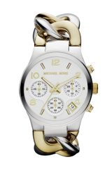 Michael Kors Ladies Silvertone Goldtone Stainless Steel Watch - Lyst