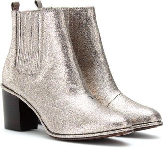 Opening Ceremony Brenda Glitter Covered Ankle Boots - Lyst