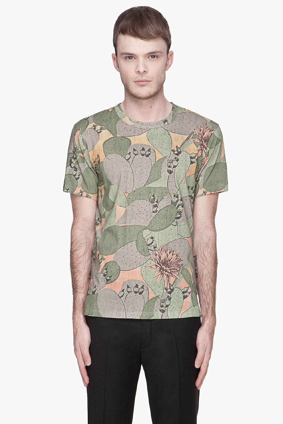 4befcc54 Paul Smith Cactus Print T-Shirt in Green for Men - Lyst