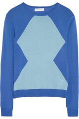 Richard Nicoll Two-tone Merino Wool Sweater - Lyst